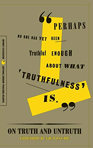 On Truth and Untruth: Selected Writings (The Resistance Library)