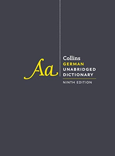 Collins German Unabridged Dictionary (9th Edition)