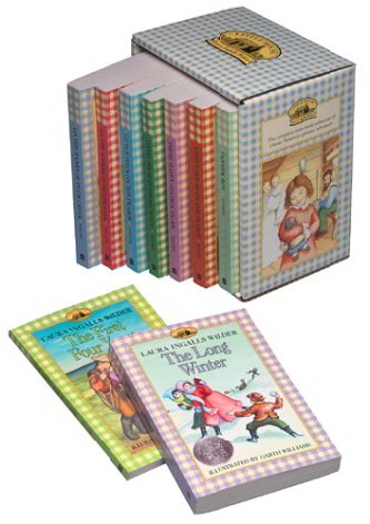 The Little House Books (9 Softcover Books)
