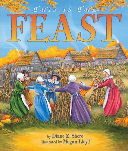Religious First Thanksgiving dinner Feast illustrated book