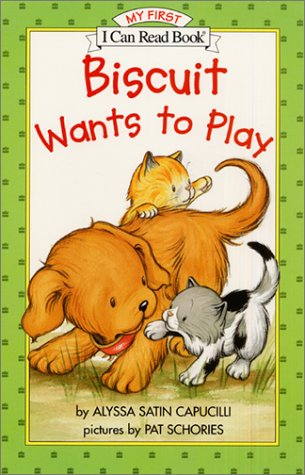 Biscuit Wants To Play (My First I Can Read Book)