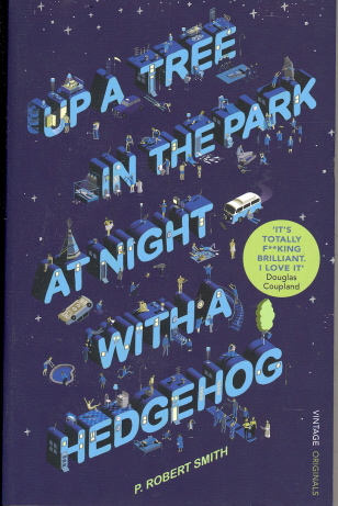 Up a Tree at Night in the Park with a Hedgehog