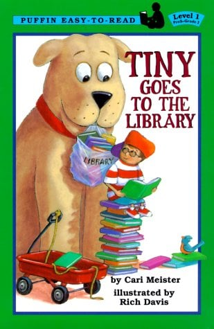 Tiny Goes to the Library (Puffin Young Readers, Level 1)