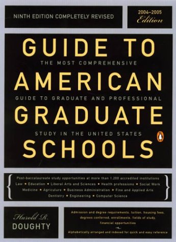Guide to American Graduate Schools (Ninth Edition)