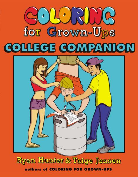 College Companion (Coloring for Grown-Ups)