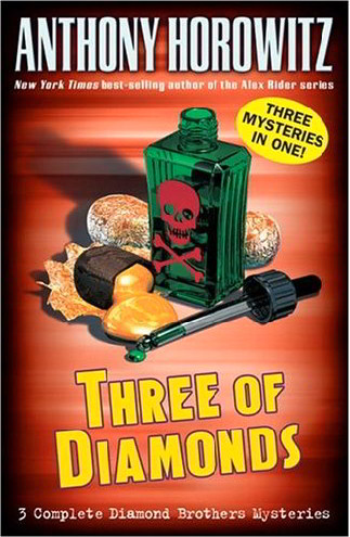 Three of Diamonds (Diamond Brothers Mysteries)