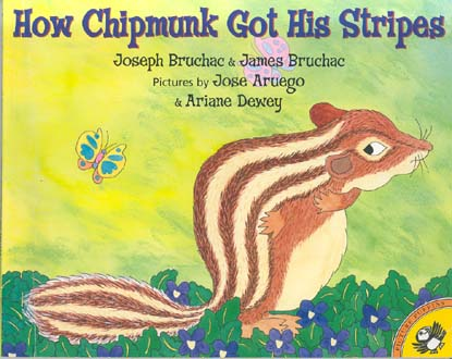 How Chipmunk Got His Stripes