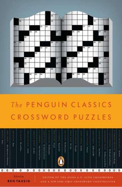 Book Cover Portadas Crossword ~ The penguin classics crossword puzzles