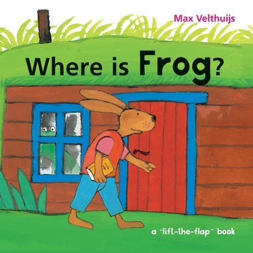 Where is Frog? (Lift-the-Flap Book)