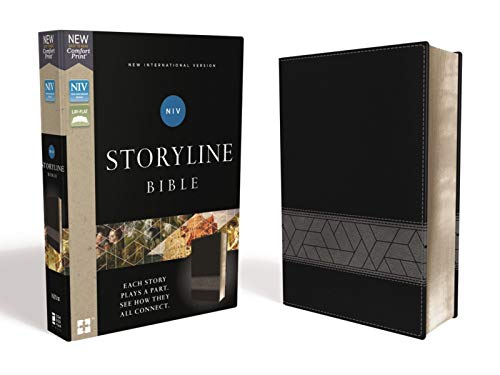 NIV Storyline Bible (Black Leathersoft)