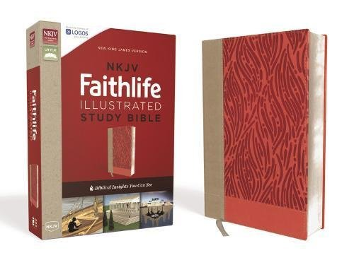 NKJV Faithlife Illustrated Study Bible (Coral Leathersoft)