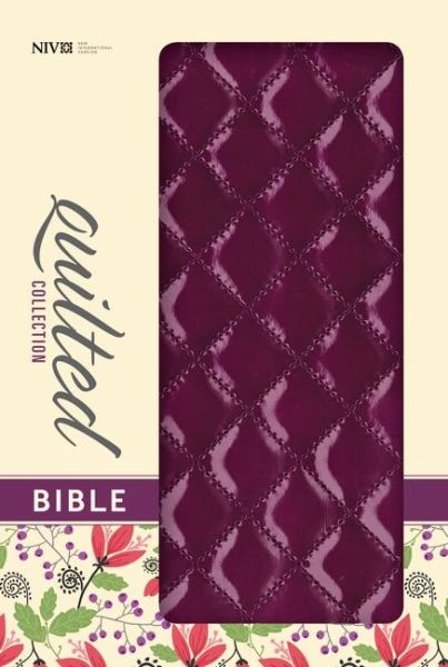 Quilted Collection Bible (NIV, Plum Italian Duo-Tone)