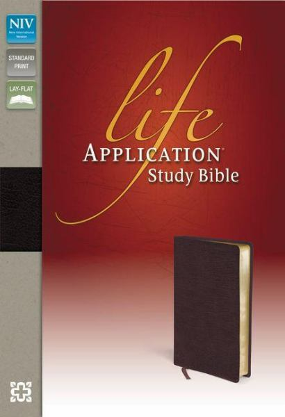 NIV Life Application Study Bible (Thumb Indexed, Burgundy Bonded Leather)