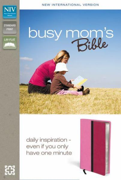 Busy Mom's Bible (NIV/Text, Pink/Hot Pink Italian Duo-Tone)