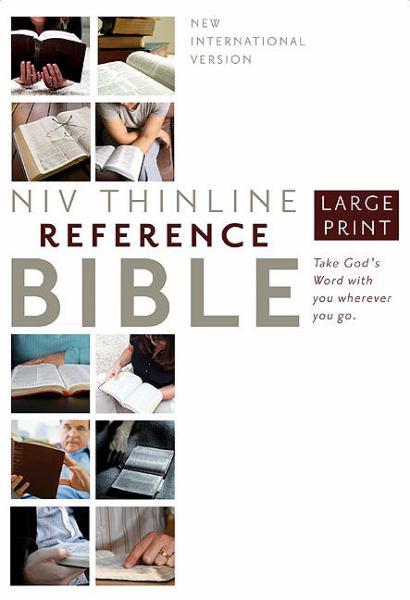 NIV Thinline Reference Bible (Large Print)