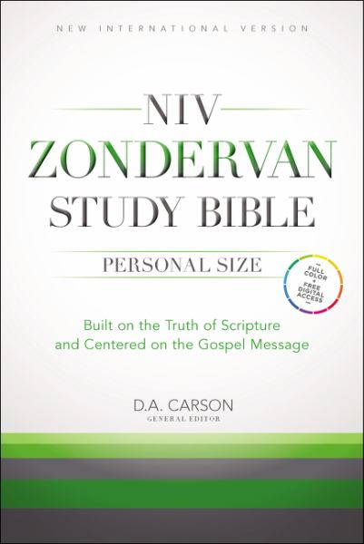 NIV, Zondervan Study Bible, Hardcover: Built on the Truth of Scripture and Centered on the Gospel Message