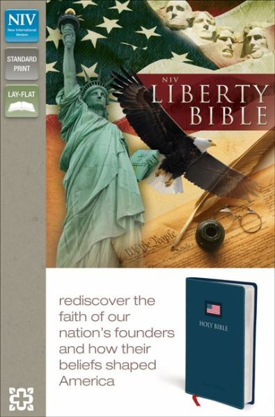 NIV Liberty Bible (NIV, Blue Italian Duo-Tone)