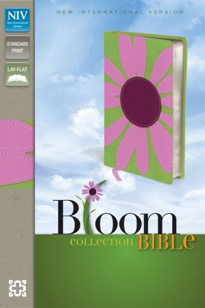 NIV Thinline Bloom Collection Bible (NIV, Text, Pink Daisy Italian Duo-Tone)
