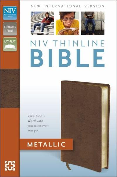 NIV Thinline Bible (Metallic Copper Bonded Leather)