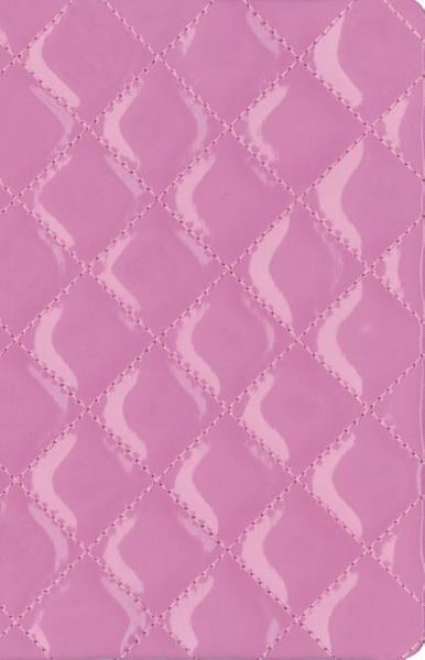 NIV Thinline Quilted Collection Bible (NIV, Text, Strawberry Cream Italian Duo-Tone)