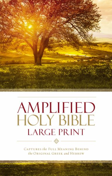 Amplified Holy Bible (Large Print)