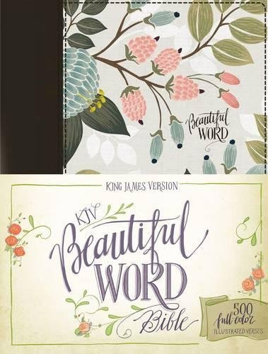 KJV Beautiful Word Bible (Multicolor Floral Cloth Over Board)