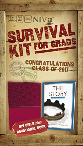 NIV 2017 Survival Kit for Grads (Girls' Edition, Burgundy)