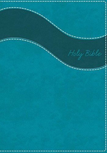 NIV Gift Bible (Thumb Indexed, Turquoise Leathersoft)