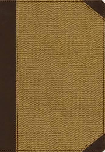 NIV Cultural Backgrounds Study Bible (Large Print, Brown/Tan Leathersoft)