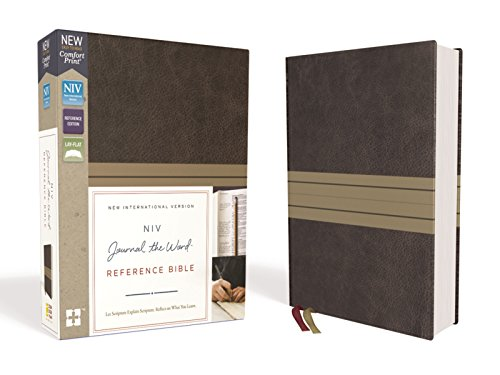 NIV Journal the Word Reference Bible (Brown/Tan Leathersoft)