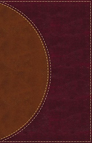 Amplified Reading Bible (Thumb Indexed, Brown Leathersoft)