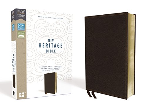 NIV Heritage Bible (Brown Leathersoft)
