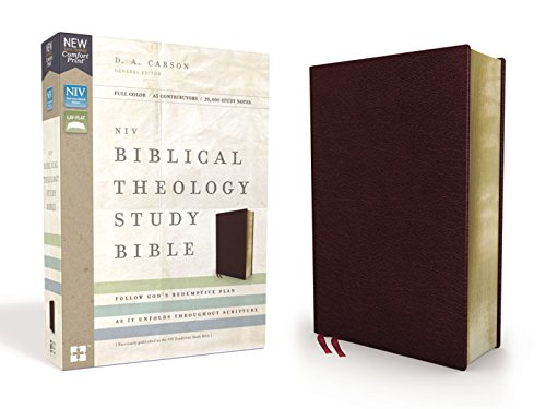 NIV Biblical Theology Study Bible (Burgundy Bonded Leather)