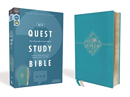 NIV Quest Study Bible (Teal Leathersoft)