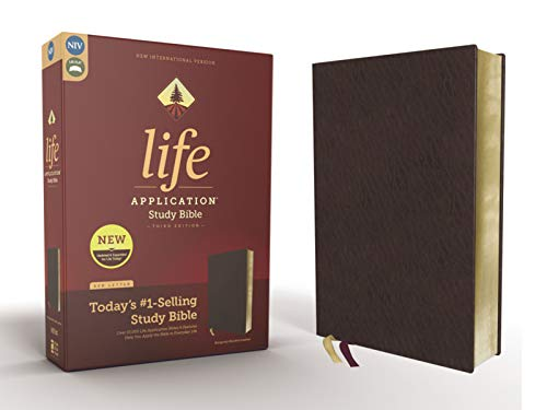 NIV Life Application Study Bible (3rd Edition, Burgundy Bonded Leather)