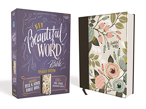 NIV Beautiful Word Bible (Updated Edition, Floral Cloth Over Board)