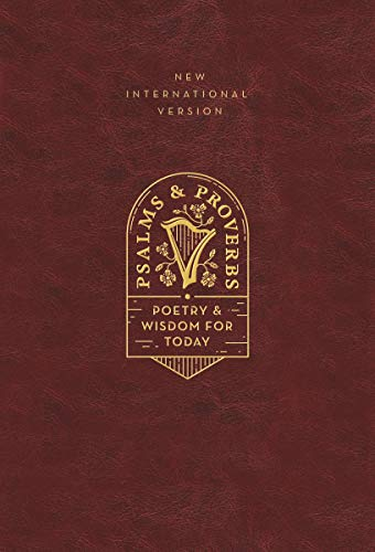 NIV, Psalms and Proverbs (Burgundy Leathersoft Over Board)