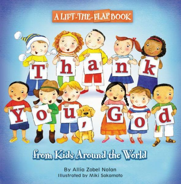Thank You, God (Lift-The-Flap Book)