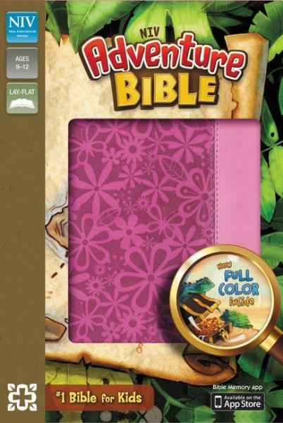 NIV Adventure Bible (Raspberry/Pink Leathersoft)