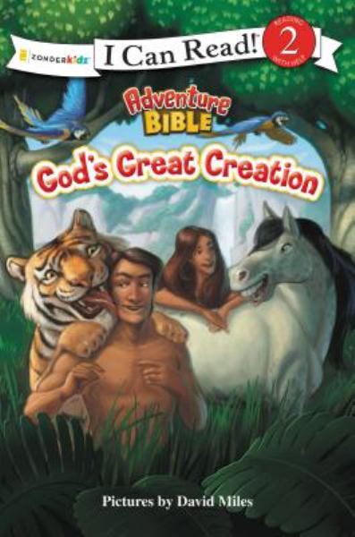 God's Great Creation (Adventure Bible, I Can Read Level 2)