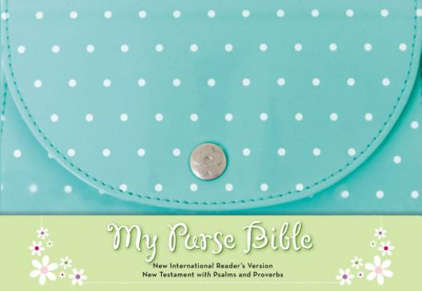 NIrV My Purse Bible (Blue Leathersoft)