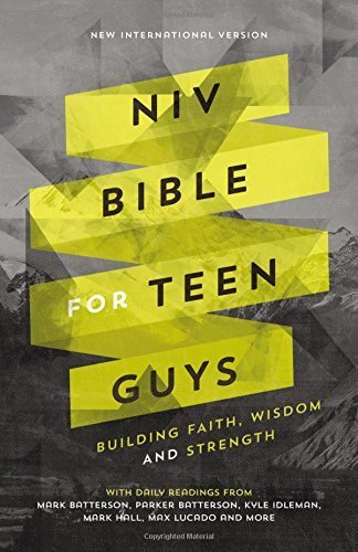 NIV Bible for Teen Guys (Blue Leathersoft)