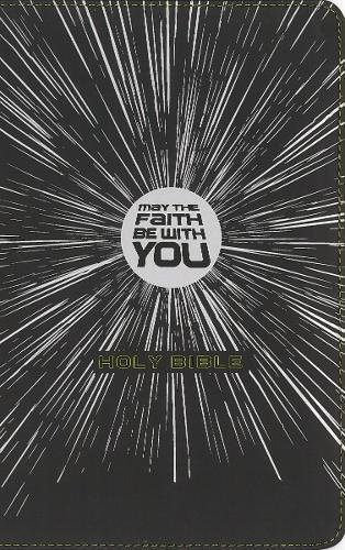 NIrV, May the Faith Be with You Holy Bible (Black Leathersoft)
