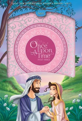 NIrV Once Upon a Time Holy Bible (Pink Leathersoft)
