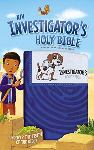 NIV Investigator's Holy Bible (Blue Leathersoft)