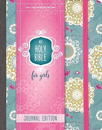 NIV Holy Bible for Girls (Journal Edition, Turquoise)