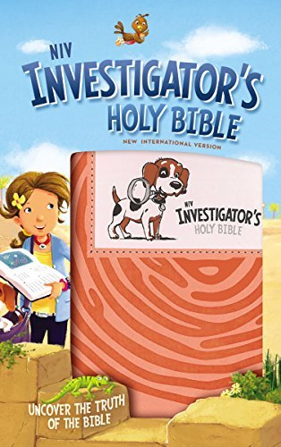 NIV Investigator's Holy Bible (Coral Imitation Leather)