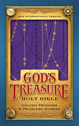 NIV God's Treasure Holy Bible (Amethyst Leathersoft)