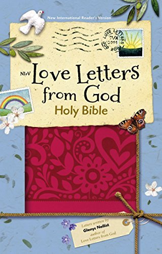 NIrV Love Letters from God Holy Bible (Magenta Italian Duo-Tone)