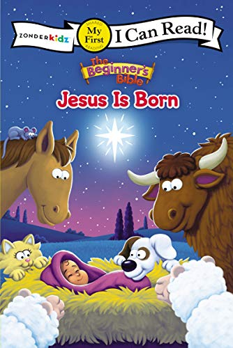 Jesus Is Born: The Beginner's Bible (My First I Can Read)